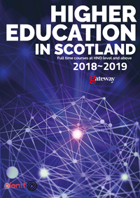 Higher Education in Scotland cover