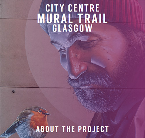 Glasgow Mural Trail website screenshot
